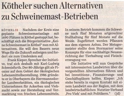 Hamburger Abendblatt 25.10.10