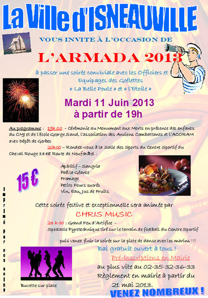 soirée armada isneauville avec chris' music