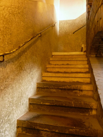 Treppen zum Kirchturm