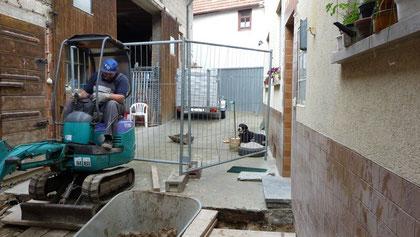 Umbau Welpenhaus