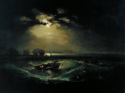 "William Turner, ""Pescatori in mare"""