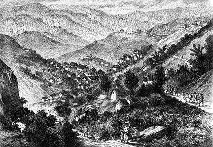 Petite ville d'Ho-boung ou des Salines