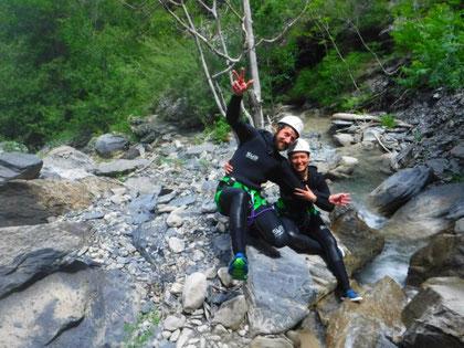 canyoning briançon, à serre chevalier dans les hautes alpes bon pour la santé