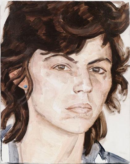 ELIZABETH PEYTON- Isa, 2010. GAGOSIAN GALLERY