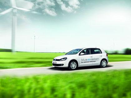 Elektro Golf blue-e-motion , Elektroauto VW