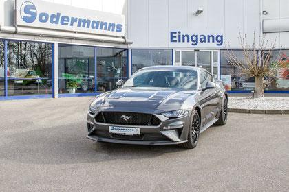 behindertengerechter Ford Mustang 5.0 V8 GT Fahrzeugumbau für Rollstuhlfahrer, Sodermanns