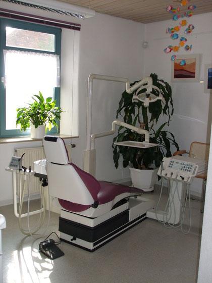 Zahnarztpraxis Wölke Behandlungszimmer
