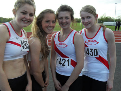 Kelly Constable, Lurenda Mudd, Dayna Willoughby, Kate Davies