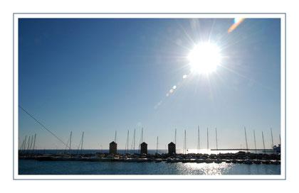 Hafen in Rhodos Stadt
