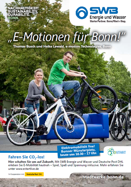 Stadtwerke Bonn e-Bike Aktion