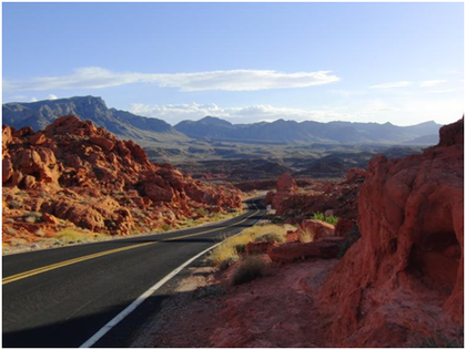 durch das Valley of Fire