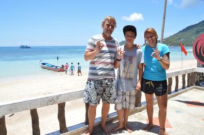 Claus und Neus von Phoenix Divers mit Sean