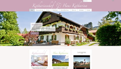 Webseite Katharinenhof, Haus Katharina