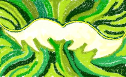 3a passeggiata - Lo Spirito d'Amore - disegno di Wilma Camatti