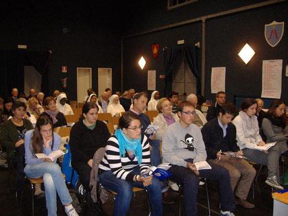 In prima fila il Gruppo Giovani impegnati per la Missione
