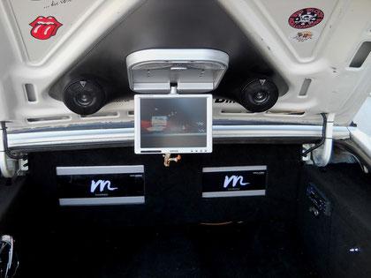 Oldsmobile 98 Kofferraumausbau mit allem was gut und teuer ist...
