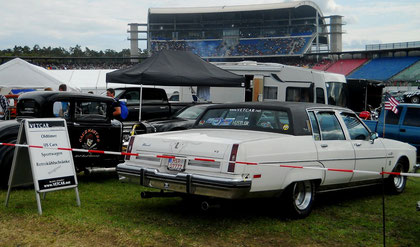 VETCAR Racing Team US-Car Ausstellung im Motodrom Hockenheimring
