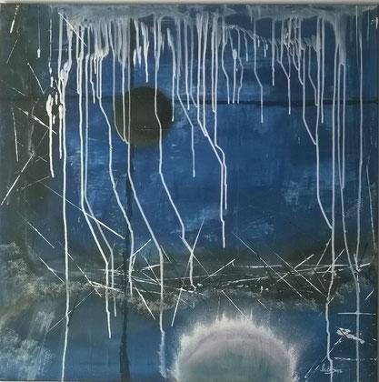 70 x 70 cm , 2014 , Acryl auf Leinwand