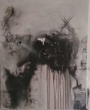 100 x 80 cm , 2014 , Acryl auf Leinwand