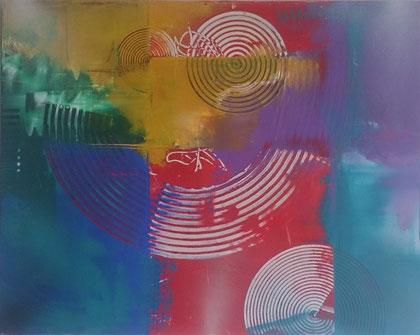 80 x 100 cm , 2014 , Acry auf Leinwand , verkauft