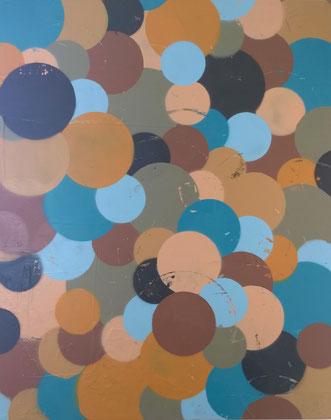100 x 80 cm , 2015 , Acryl -SP auf Leinwand