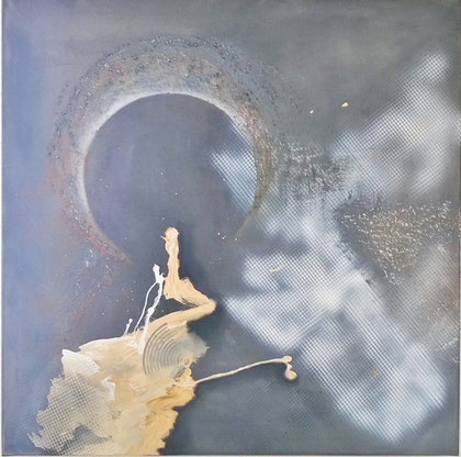 80 x 80 cm , 2014 , Acryl auf Leinwand