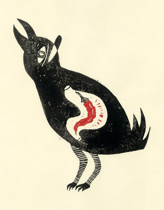 Pimentamente!,  木版画 / Woodblocks,  2015