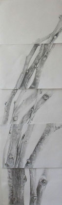 Sticks II (42x130cm)