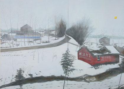 """Anhui 04, 48"""" x 60"""" / 安徽04, 122cm x 152cm  2010"""
