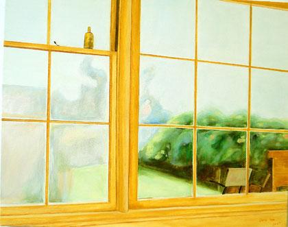 """Afternoon Window 24"""" 30"""" / 午后 61x 76cm, 2007"""