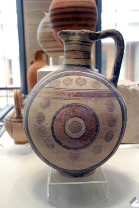 Jug Bichrome IV Ware, Cypro-Archaic I, Pierides Collection, Nicosia