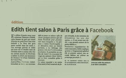 La Nouvelle République - 16 octobre 2009 - Pascal Laurent