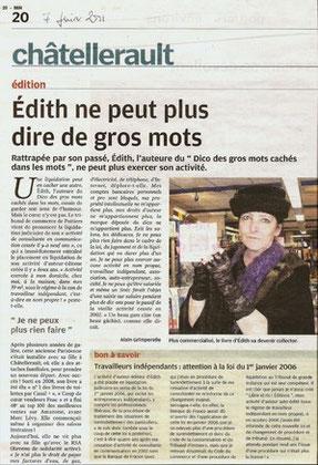 La Nouvelle République annonce l'interdiction de commercialisation du dico - Pascal Laurent - 7 juin 2011