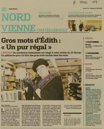 Centre Presse - 8 mars 2009 - Alain Grimperelle