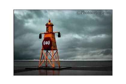 113              Orange Lighthouse (Esbjerg, DK)                 Ltd edition of 20. Signed