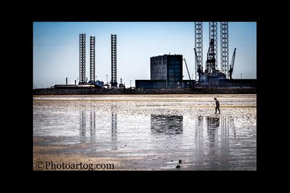 111               Industrial Seaside   (Colour) (Esbjerg, DK)       Ltd edition of 20 . Signed