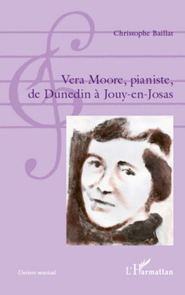 illustration pour Vera Moore, pianiste de C. Baillat (1re de couv.)