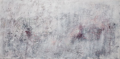 Archaeology 1 - acrylic painting on canvas - 50x100cm - SOLD