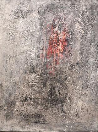 Emotional Archaeology 11 - acrylic painting on canvas - 50x30cm -