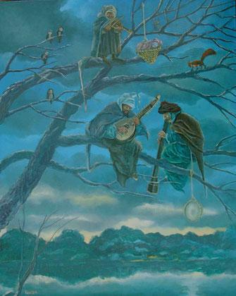 concert dans les branches-huile-120x80
