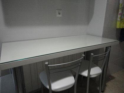 Cocina blanca lacada Jaen