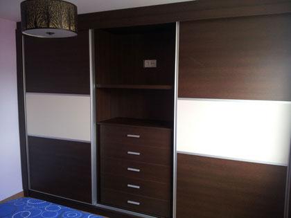 Dormitorio wengue en Martos