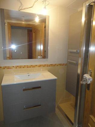 Mueble de baño y mueble auxiliar Torredelcampo