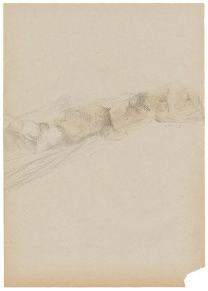 「役目なき翅」わら半紙に鉛筆、黒ニス 2014年