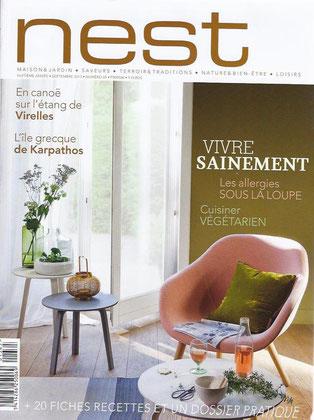 LA VILLA maison d'hôtes à Bruxelles dans le magazine NEST 09/2013