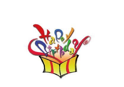 オーダーメイド書道 企業  筆文字アート 手書き 誕生日カード