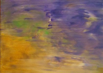 Nr. 42 Traumwelt 80 x 60 cm Acryl auf Leinwand