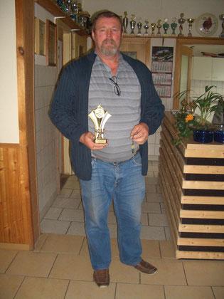 3. Platz bei den Männern Klaus Gehse mit 181 Ringen