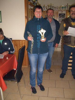 3. Platz bei den Frauen Silke Greiff mit 156 Ringen