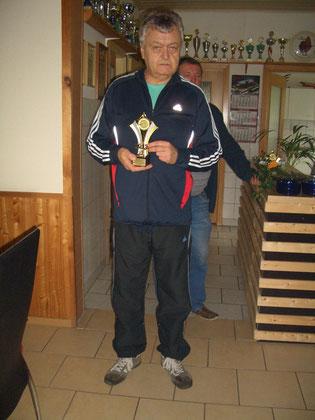 1. Platz bei den Männern Rainer Klockow mit 192 Ringen